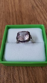 Sterling Silver Amythest Ring Size 9 in Wheaton, Illinois