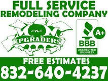FREE ESTIMATES FOR HOME REMODELING in The Woodlands, Texas