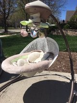 Fisher-Price Snugabunny Cradle with Smart Swing Technology for Baby in Bartlett, Illinois