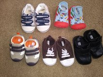 Baby Boy Shoes (sizes 12-18 month to 4) in Vista, California