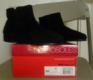Women's Black Ankle Boots in Yucca Valley, California