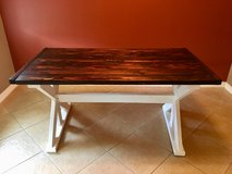 Handmade Farmhouse X base table in Kingwood, Texas