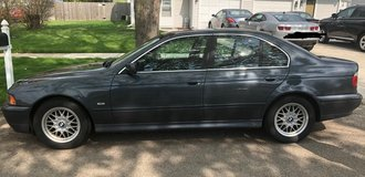 2001 BMW 525i.  Priced to sell 131k miles in Naperville, Illinois