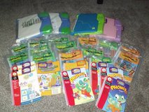 Lot of Leap Frog Electronic Learning Books with Cartridges in Tinley Park, Illinois