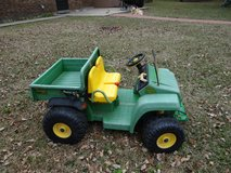 Childs John Deere Peg Perego riding (driving) Gator for PARTS in Conroe, Texas