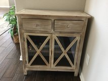 Distressed Farmhouse Cabinet in Kingwood, Texas