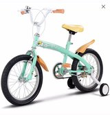 Goplus 12'' Kids Bicycle Bike With Training Wheels Bell and brakes in Bolingbrook, Illinois