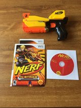 Nerf game with accessory for the Wii in Ramstein, Germany