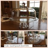 Cake Stand in Spangdahlem, Germany