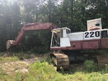 Poclain 220 Trackhoe in Fort Leonard Wood, Missouri