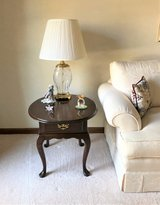 Wood Oval End Table - Queen Anne Style - HARDEN in Lockport, Illinois