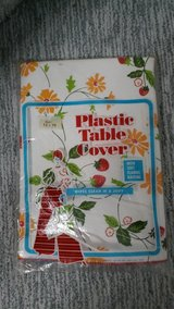 Free with any other purchase - Strawberry and Flowers Plastic Table Cover in Naperville, Illinois