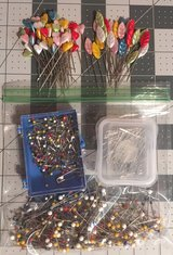 Mixed lot of stick pins in Yucca Valley, California