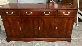 mahogany Buffet/Media Cabinet or Accent Piece in Fort Benning, Georgia