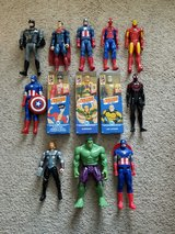 "13 Marvel & DC 12"" Figures Lot in Camp Lejeune, North Carolina"