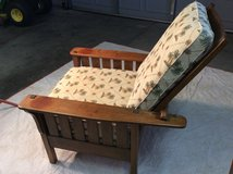 Adjustable solid maple Morris chair in Fort Rucker, Alabama