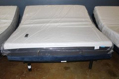 ADJUSTABLE KING FRAME WITH MATTRESS INCLUDED in Spring, Texas