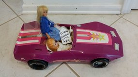Barbie Corvette in St. Charles, Illinois