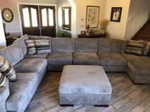 Large Ashley sectional couch in Yucca Valley, California