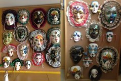 Collectible Hand-Painted Masks in Shorewood, Illinois