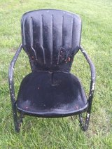 Vintage Metal Lawn Chair in Fort Leonard Wood, Missouri