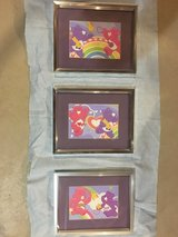 """Care Bears"" Framed Art in Plainfield, Illinois"