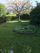 An EFH in a very nice quiet location with large garden and a pool for children. in Stuttgart, GE