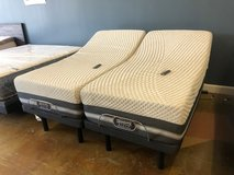 Black Ice Beautyrest Mattress Set With Adjustable Bases in Tomball, Texas