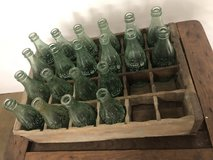 Vintage coca-cola bottles in Fort Campbell, Kentucky