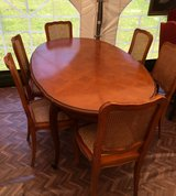 elegant french dinning table with 6 chairs in Ramstein, Germany