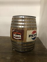 Large barrel in Fort Campbell, Kentucky