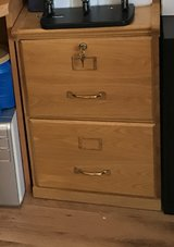 Wood file cabinet in Ramstein, Germany