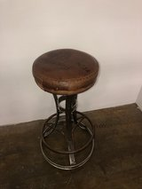 Leather Seat Stool in Fort Campbell, Kentucky