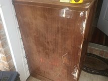 Old TV cabinet in Fort Polk, Louisiana