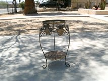 plant stand in Yucca Valley, California