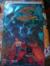 Big Trouble in Little China, Escape from New York Comic Book in Yucca Valley, California