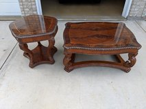 Cocktail Table and End Table Set in Oswego, Illinois