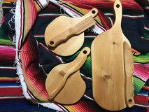 Rustic Cedar Cheese Boards With Knife in Alamogordo, New Mexico