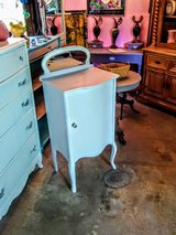 antique bow front cabinet in Cherry Point, North Carolina