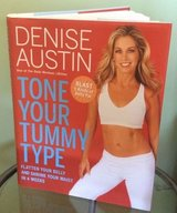 Tone Your Tummy Type Flatten Your Belly Shrink Your Waist 4 Weeks Denise Austin Hardcover Book w... in Yorkville, Illinois