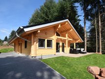 TLA Chalet Log Home with sauna and fireplace in Ramstein, Germany