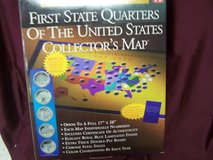 First State Quarters Of The Untied States Collector's Map in Alamogordo, New Mexico