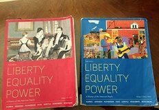 Lone Star History 1301 and 1302 Books - Liberty Equality Power Vol 1 and 2 - 6th Ed. in Spring, Texas
