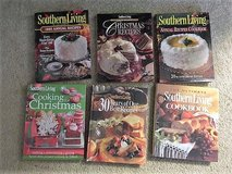 Southern Living Cookbooks Like New Set of 6 in Conroe, Texas