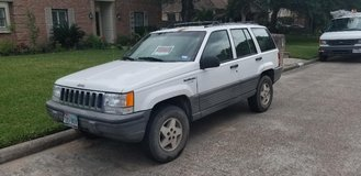 1995 Jeep Grand Cherokee Laredo.  2WD.  4.0L Engine. Clear Title.   $1000.00 in The Woodlands, Texas