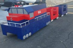 Trackless Train in 29 Palms, California