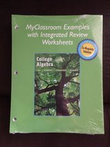 Myclassroom Examples w/ Integrated Review Worksheets for College Algebra Co-Requisite Solution 1... in Spring, Texas