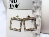Enhancers Jewelry Silver Tone Craft Faux Shop Necklace Pendant Making Square in Kingwood, Texas