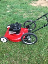 Push Mower Big rear Wheels in Fort Campbell, Kentucky