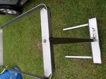 Over bed food tray holder in Fort Polk, Louisiana